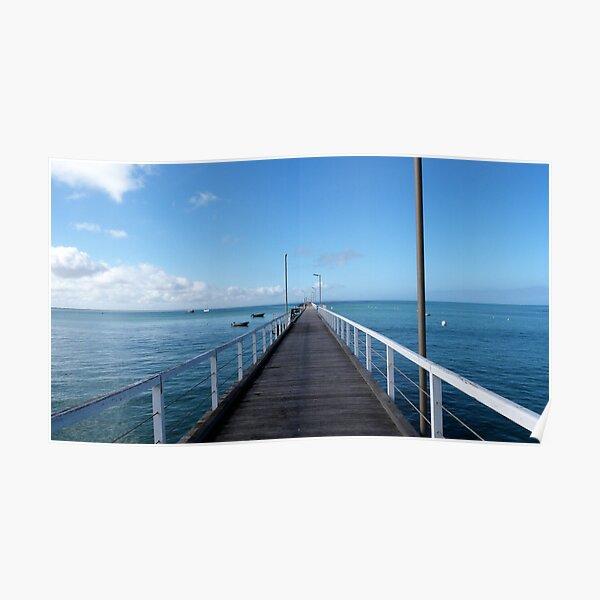 Beachport Jetty, Limestone Coast, South Australia. Poster