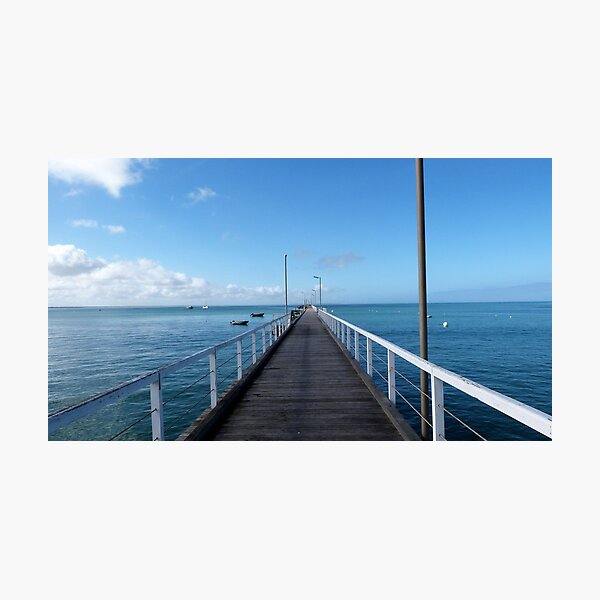 Beachport Jetty, Limestone Coast, South Australia. Photographic Print