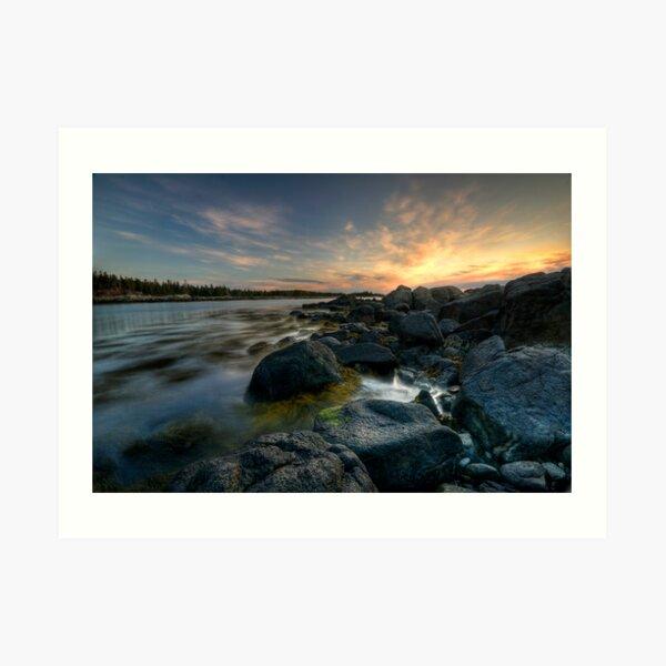 Harbor Dawn Art Print