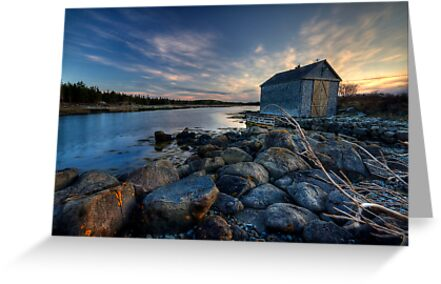 The Boat House by Sue  Cullumber