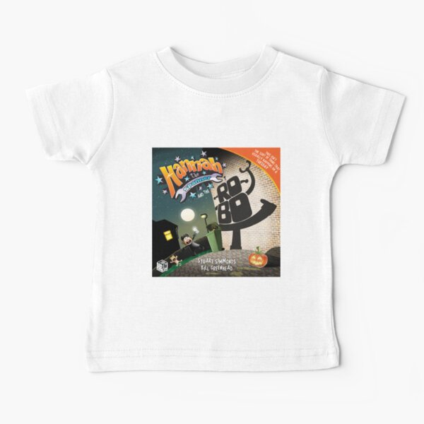 Hannah the Spanner and the Robot Baby T-Shirt