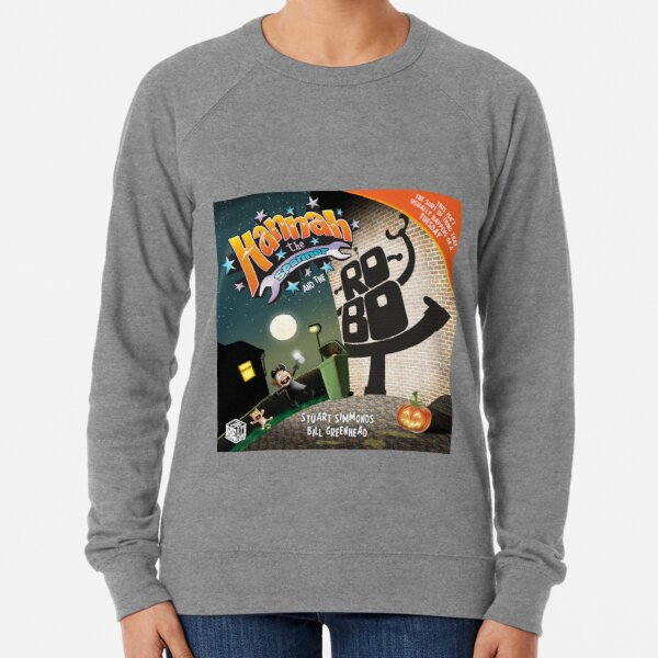 Hannah the Spanner and the Robot Lightweight Sweatshirt