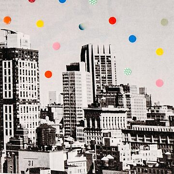 city dots by cardboardcities
