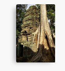Nature always win 2 Canvas Print