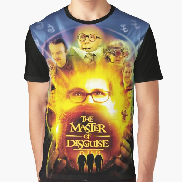 The Master of Disguise Graphic T-Shirt