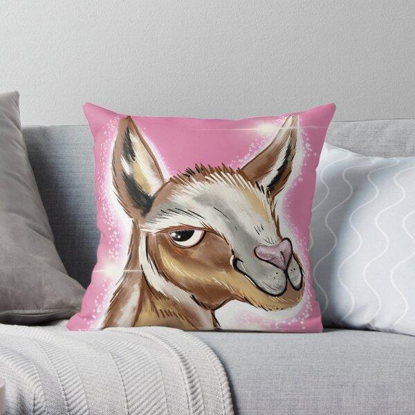 Glitterllama Throw Pillow