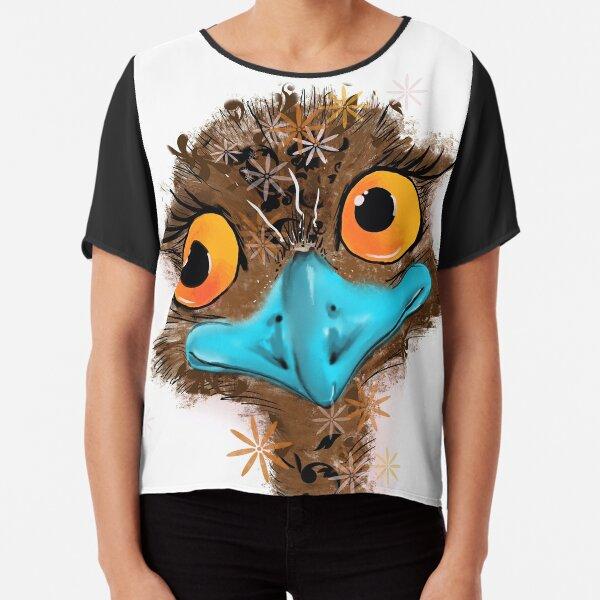 Derpy Emu Chiffon Top
