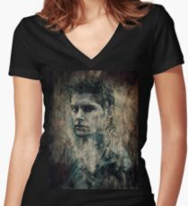 Dean Winchester Women's Fitted V-Neck T-Shirt