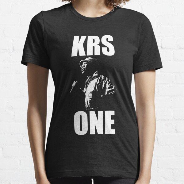 KRS-ONE - White Stencil Essential T-Shirt
