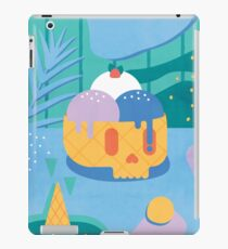 Skull Ice Cream Cone iPad Case/Skin