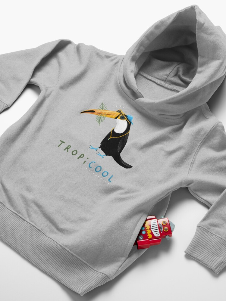 Alternate view of Tropicool Toddler Pullover Hoodie