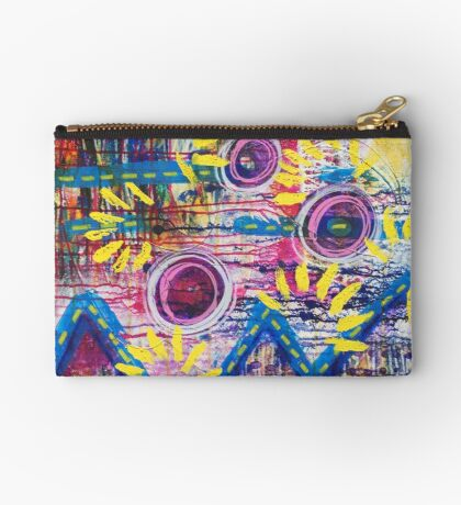 Mountains of Abundance: Inner Power Painting Studio Pouch