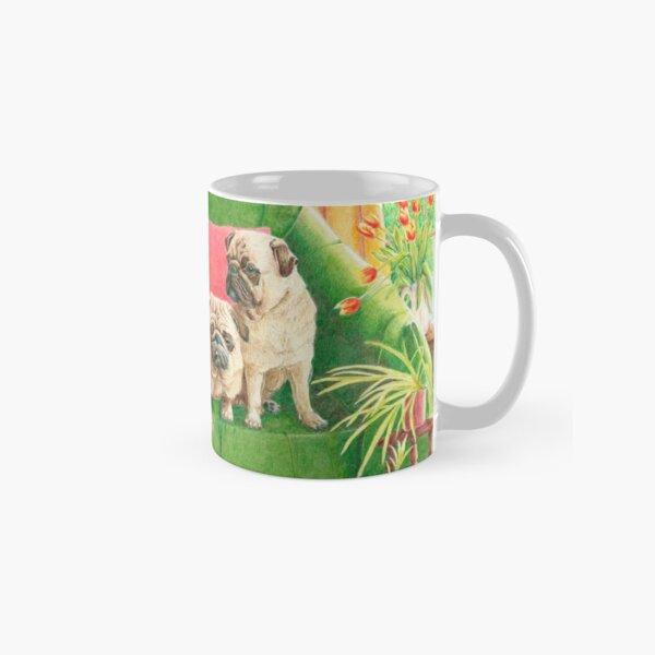 Pugs - Good company Classic Mug
