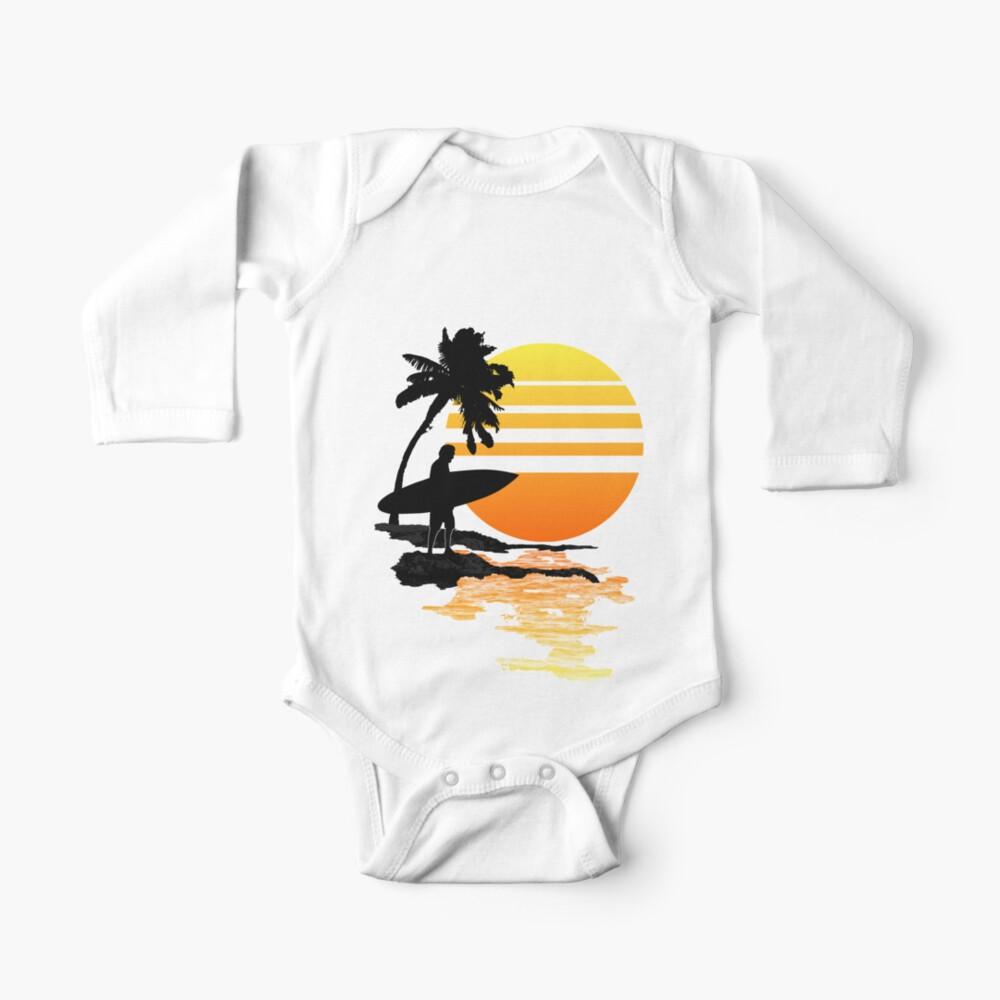 Surfender Sonnenaufgang Baby Body