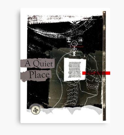 It's a quiet place Canvas Print