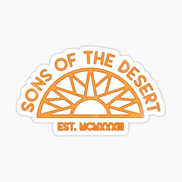 Sons of the Desert Sticker