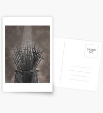 Throne of Thrones Postcards