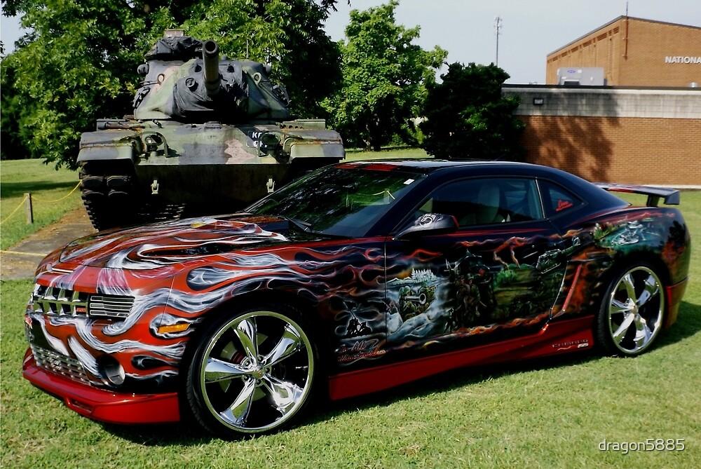 military tribute camaro by dragon5885