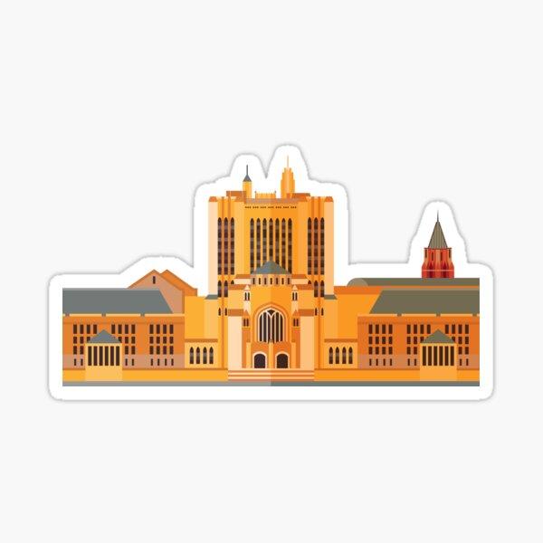 Yale University. Vector Illustration. Sticker