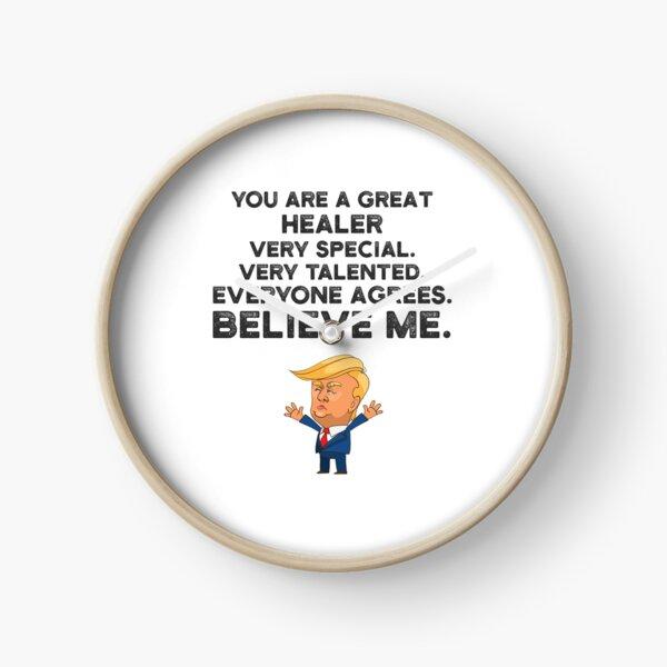 Healer Funny Trump Clock