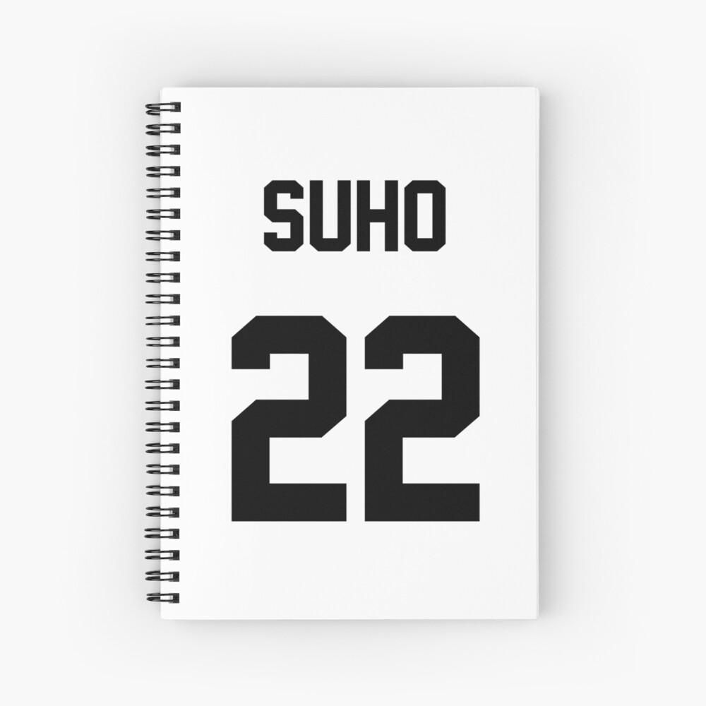 EXO Suho Jersey Spiralblock