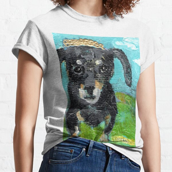 Cherish the Dachshund Classic T-Shirt