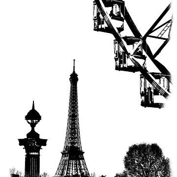 Paris Stencil Art 01/10 by lesslinear