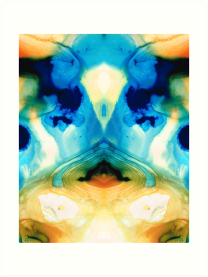 Enlightenment - Abstract Art By Sharon Cummings by Sharon Cummings