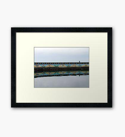 Ogden Point Seawall Framed Print
