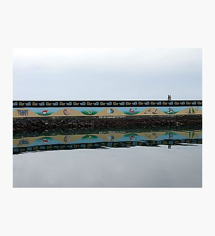 Ogden Point Seawall Photographic Print