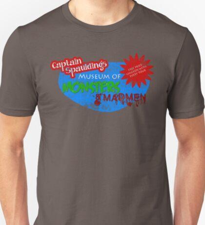 Captain Spauldings Museum of Monsters & Madmen T-Shirt