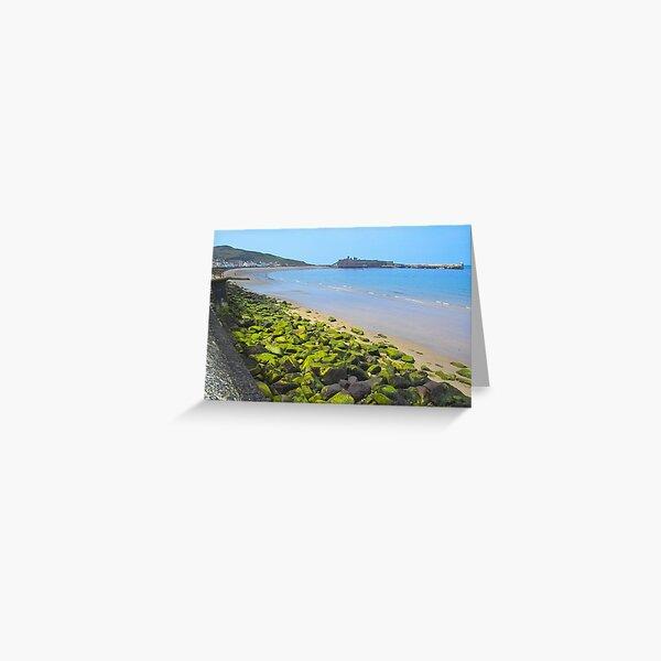 Manx coastline Greeting Card