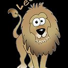 Leo the Lion! by graphicdoodles