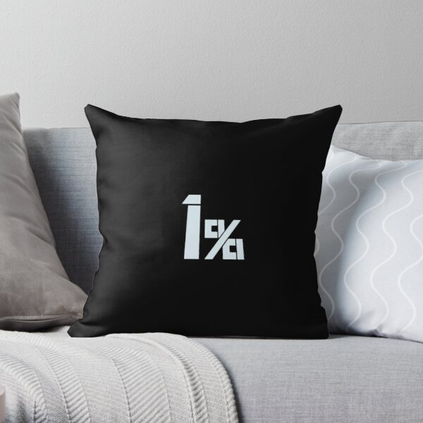 1% Mob Psycho 100 Throw Pillow