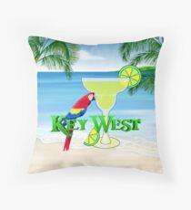 Key West Margarita Throw Pillow