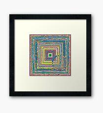 Roving Eye in Pastel Framed Print