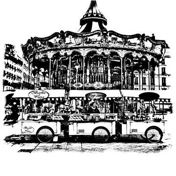 Paris Stencil Art 07/10 by lesslinear