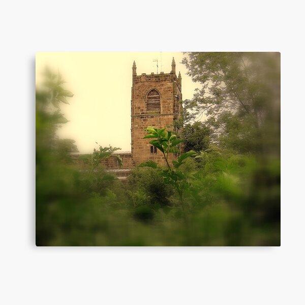 Skipton Church Tower Canvas Print