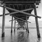 Black and White Seascape by Ryan McGurl