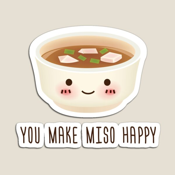 You make miso happy Magnet