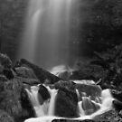 Nant Melyn Falls by Steve  Liptrot