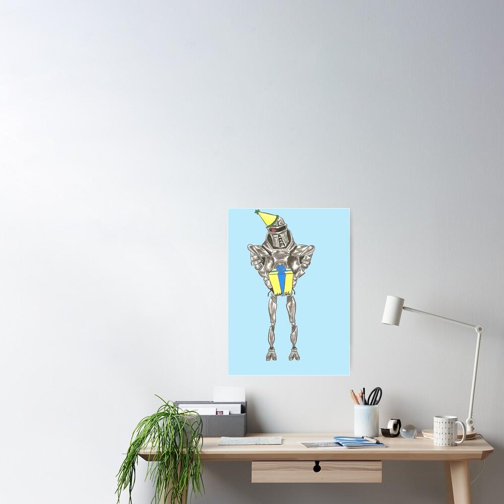 Happy Birthday Cylon Poster