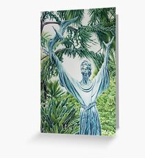 Statue of St. Francis - Sorrento,Italy Greeting Card