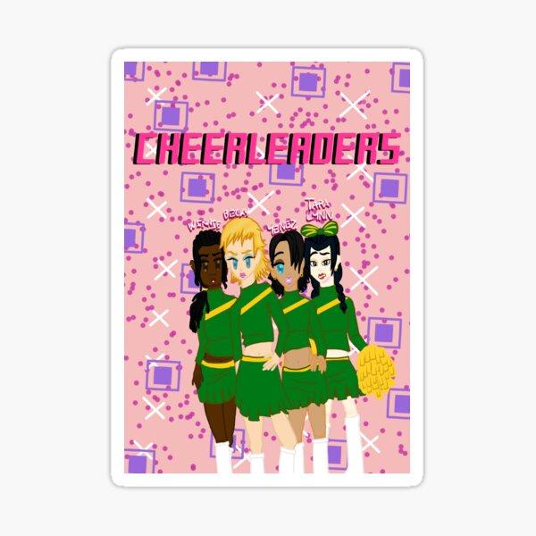 Cheerleaders - Grunge Sticker