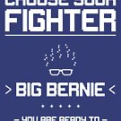 Choose Your Fighter: Bernie 2020 by BethsdaleArt