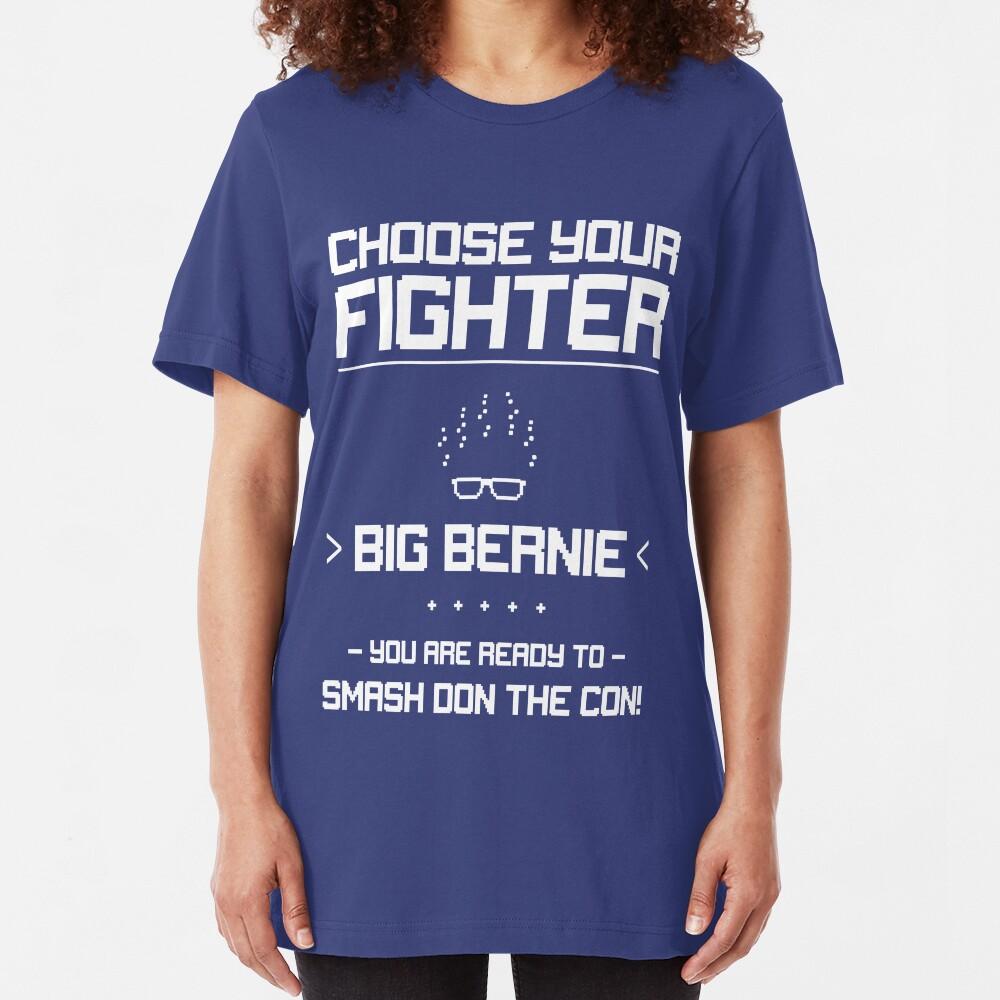 Choose Your Fighter: Bernie 2020 Slim Fit T-Shirt