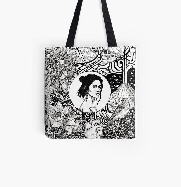Marina - Love & Fear All Over Print Tote Bag