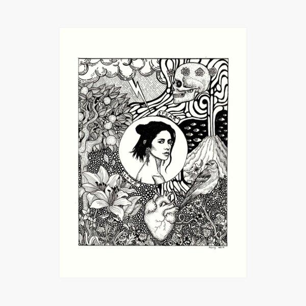 Marina - Love & Fear Art Print