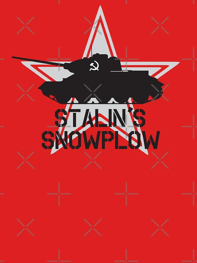 Stalin's Snowplow by DarkHorseDesign