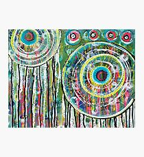 Spinning Dreams: Inner Power Painting Photographic Print